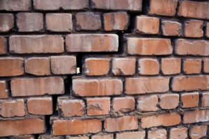 Eugene Brick Repair on a damaged bulging wall