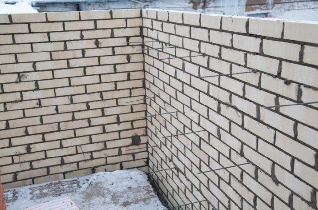 Eugene Brick Wall Finished Product